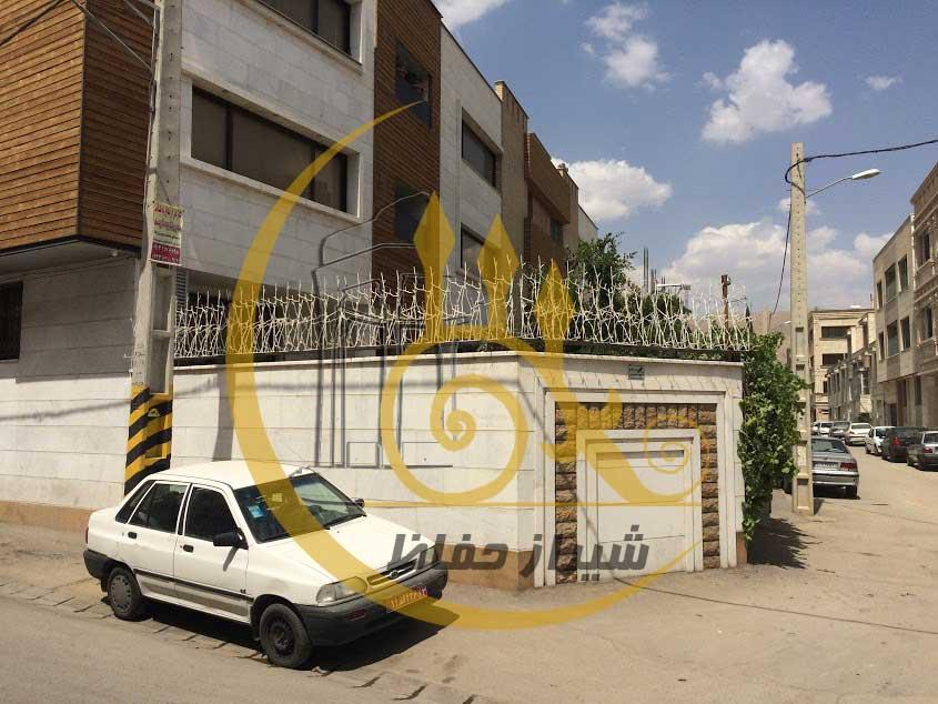 حفاظ بوته ای شیراز پروژه همت 28