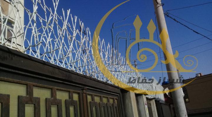 حفاظ بوته ای پروژه خ توکلی شیراز